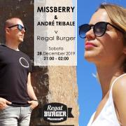 Missberry & Andre Tribale In Da Regal Burger - Regal Terasa - Piešťany