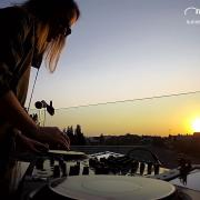 Missberry Live @ Sunset Quarantine Session 9th of April 2020 - Balcony - Home