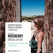 Deepfusion 124bpm by Miguel Garji - IBIZA GLOBAL RADIO - IBIZA [SPAIN]