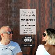 Missberry & André Tribale on Terrace - Regal Terasa - Piešťany